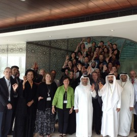 Forty professionals take part in the first Intermadiate Training Course celebrated in Abu Dhabi.