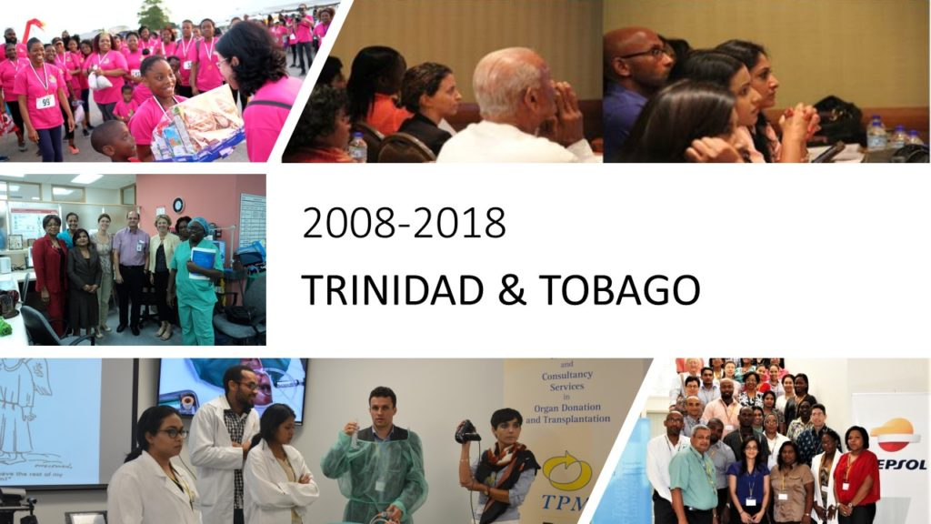 Saving lives over the last 10 years in Trinidad & Tobago